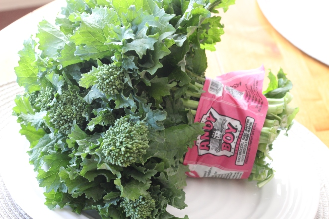 Broccoli Rabe makes a comeback!